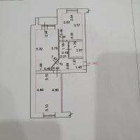 2-к квартира, 45.00 м², 1/3 этаж