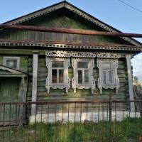 Дом 34 м² (бревно) на участке 15 сот.