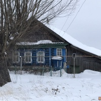 Дом 35 м² (бревно) на участке 15 сот.