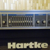 Продам басовые усилитель Hartke HA2500 и кабинет 210XL