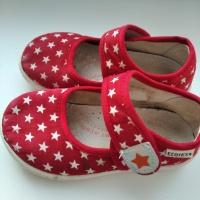 Продам матерчатые туфли б/у на девочку.