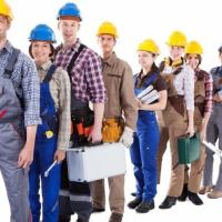 Сотрудники строительных специальностей