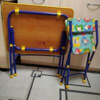 Продам детские столик и стульчик